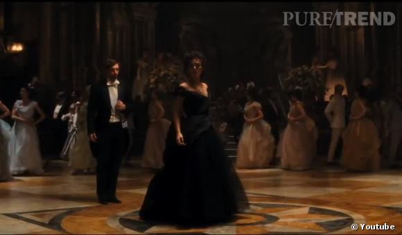 La robe noire de bal d'Anna Karenine.