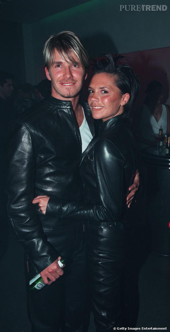 Le flop cuir :  David Beckham et Victoria, trop c'est trop !