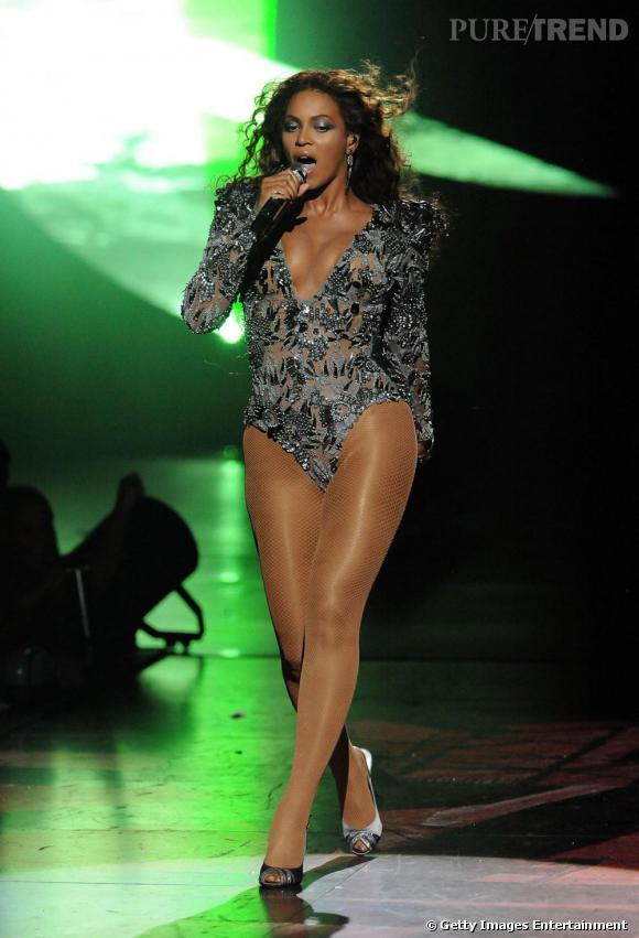 Beyoncé aux MTV Music Awards en 2009.