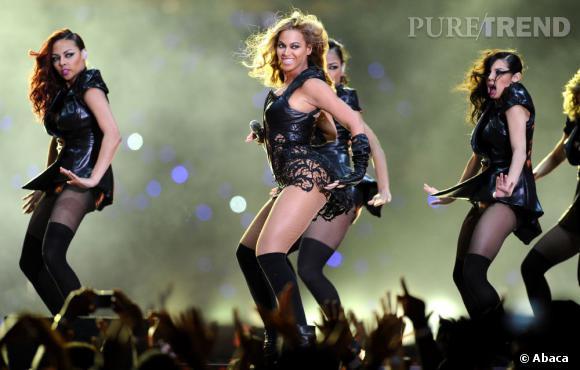 Beyoncé a mis le feu au super Bowl 2013.