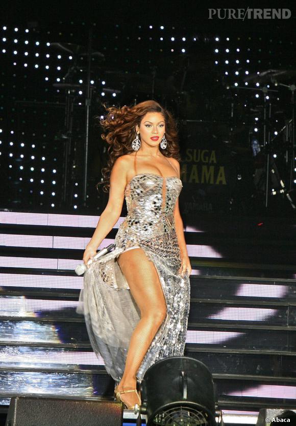 Quand Beyoncé n'est pas une guerrière sur scène, c'est une diva de caractère comme lors de ce concert à Moscou en 2007.