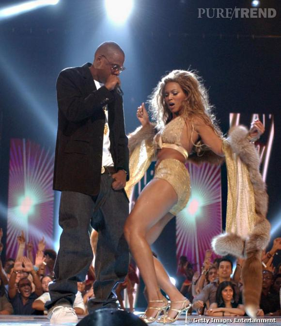 Beyoncé maîtrise l'art du flirt en public.
