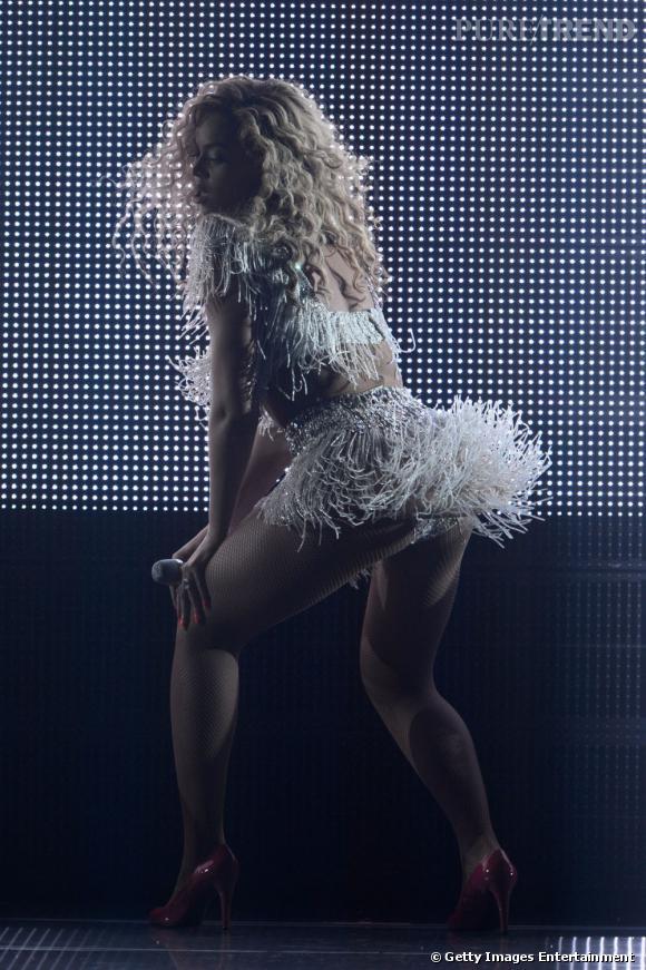 Beyoncé sait bouger... Ses fans d'Atlantic City sont unanimes en 2012.