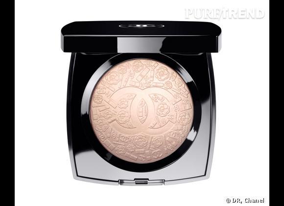 Création Exclusive, Poudre signée de Chanel, Printemps Précieux de Chanel, 55 €.