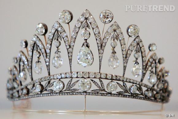 Tiare en diamants appartenant à l'impératrice Joséphine.