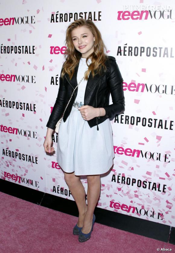 Chloë Moretz lors de sa Sweet Sixteen Party organisée par Teen Vogue cette semaine.