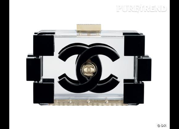 Must have : minaudière Boy Chanel en plexi, collection Printemps-Eté 2013