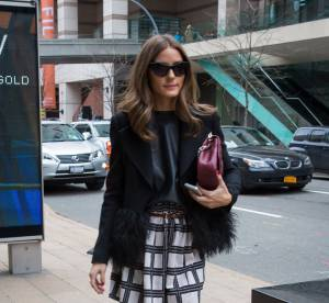 Olivia Palermo, un look de front row... A shopper !