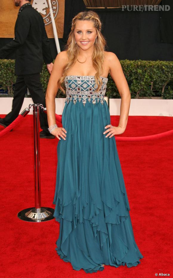 Amanda Bynes sait parfois se mettre en valeur. Sa silhouette est équilibrée. Nul besoin de perdre encore du poids.