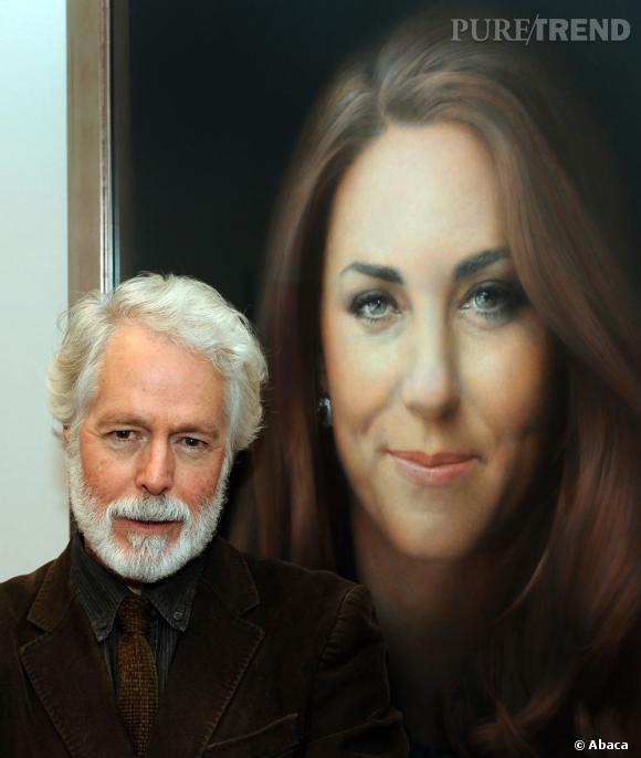 Son portrait, peint par Paul Emsley, très décevant pour de nombreuses personnes, continue de lui faire du tort !