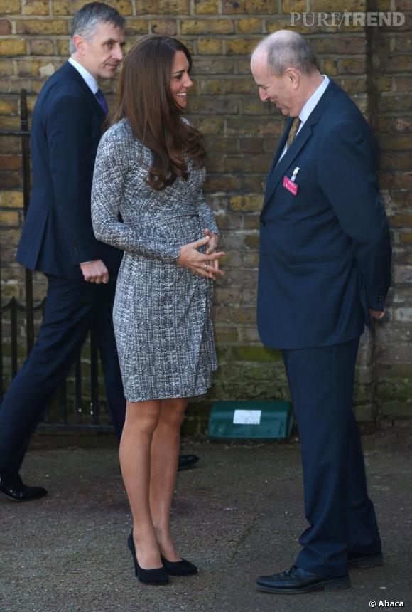 Kate Middleton est très impliquée dans les oeuvres de charité.