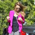 Jessica Alba : sexy et mode à Los Angeles.