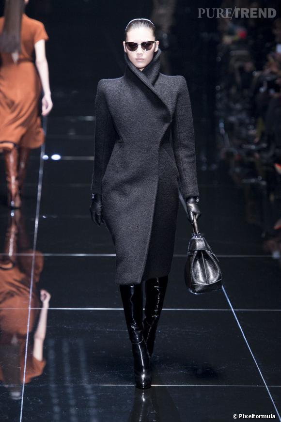 Fashion Week de Milan Automne-Hiver 2013/2014 Défilé Gucci. Entre allures futuristes et chic minimaliste.