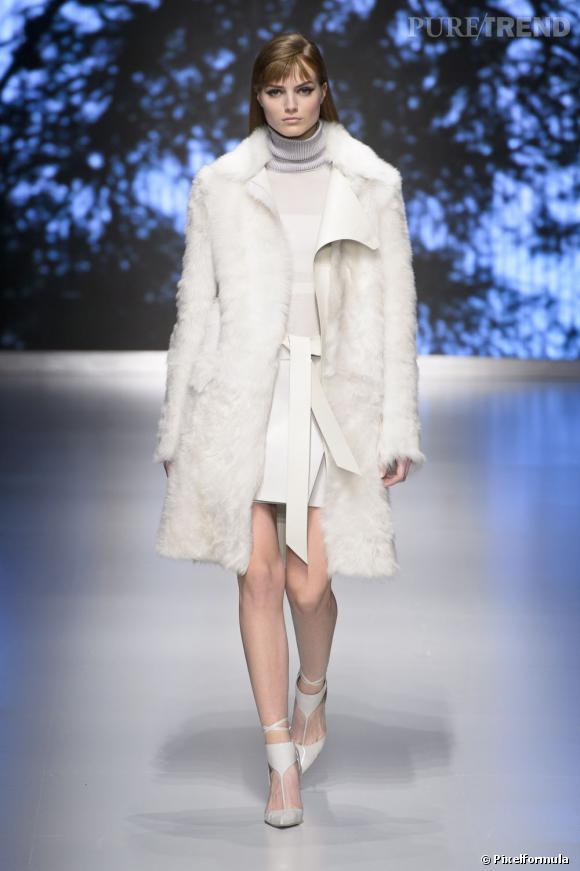 Fashion Week de Milan Automne-Hiver 2013/2014 Défilé Salvatore Ferragamo. Escale à Courchevel 1850.