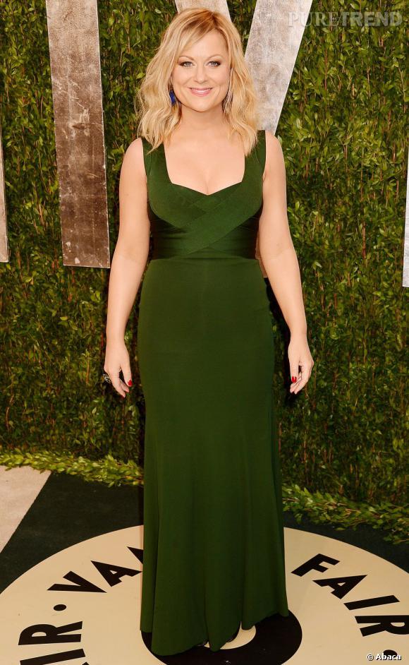 Amy Poehler à la soirée Vanity Fair post-Oscars 2013.