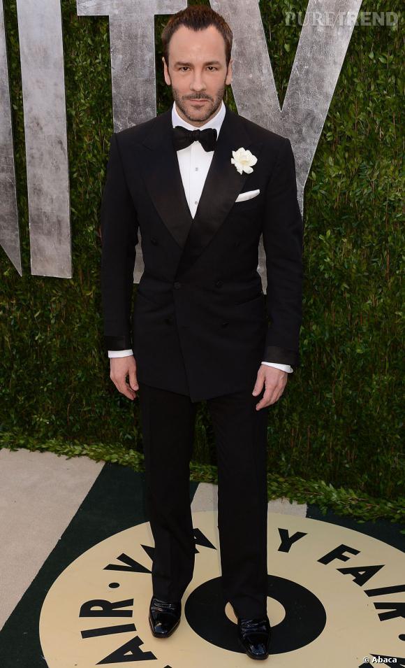 Tom Ford à la soirée Vanity Fair post-Oscars 2013.