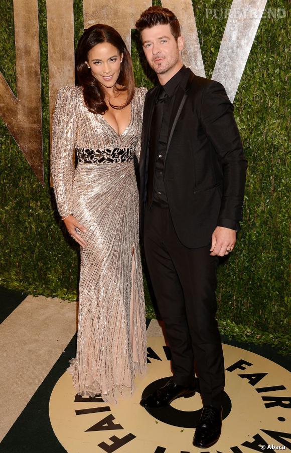 Paula Patton à la soirée Vanity Fair post-Oscars 2013.