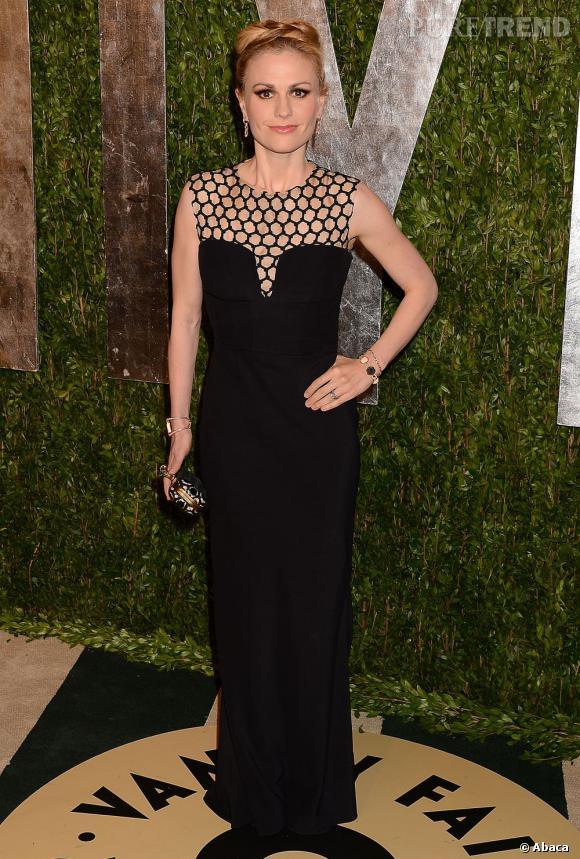 Anna Paquin à la soirée Vanity Fair post-Oscars 2013.