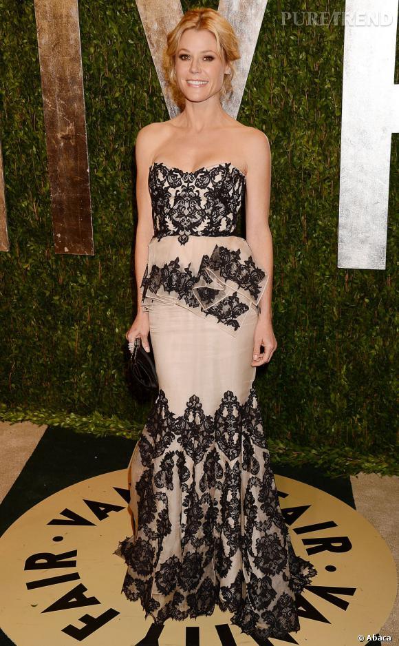 Julie Bowen à la soirée Vanity Fair post-Oscars 2013.