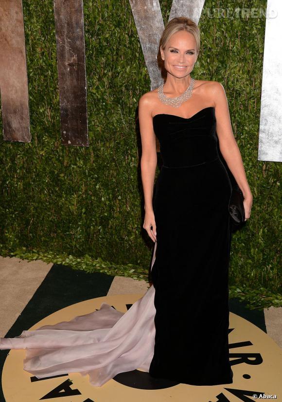 Kristin Chenoweth à la soirée Vanity Fair post-Oscars 2013.