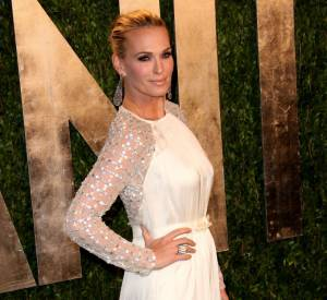 Molly Sims à la soirée Vanity Fair post-Oscars 2013.
