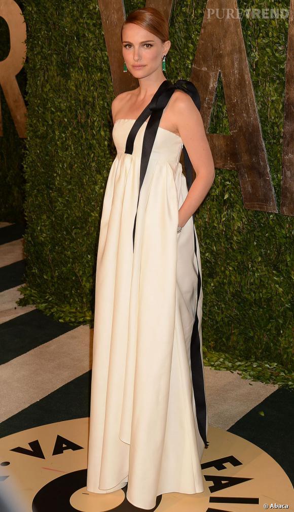 Natalie Portman à la soirée Vanity Fair post-Oscars 2013.