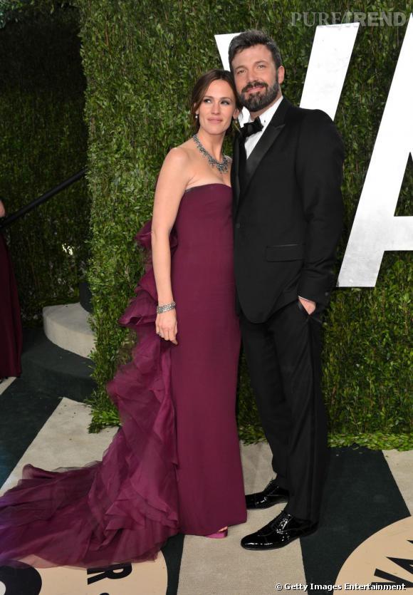 Jennifer Garner en Gucci à la soirée Vanity Fair post-Oscars 2013.