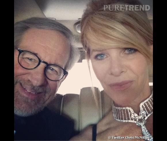 Le coiffeur des stars Chris McMillan s'est invité dans la voiture de Steven Spielberg.