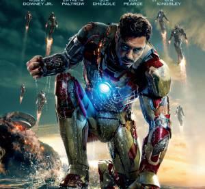 Iron Man 3 : Robert Downey Jr face au Mandarin. Les nouvelles affiches.