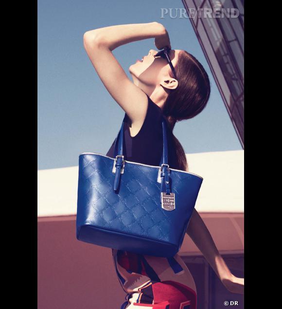 Longchamp : un pop-up store pour le LM Cuir Campagne Printemps-Eté 2013 incarnée par Coco Rocha