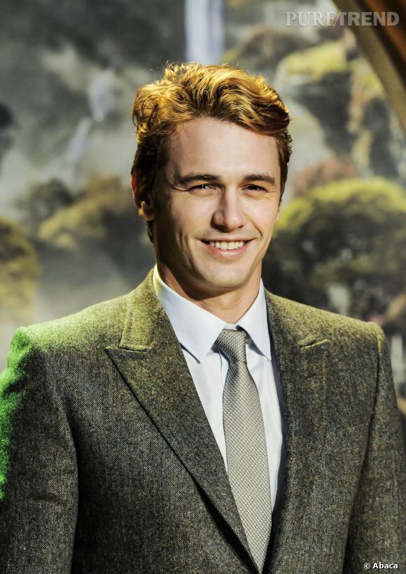 Et voilà le drame, James Franco redevient blond-roux en 2013. On espère que c'est pour un film...