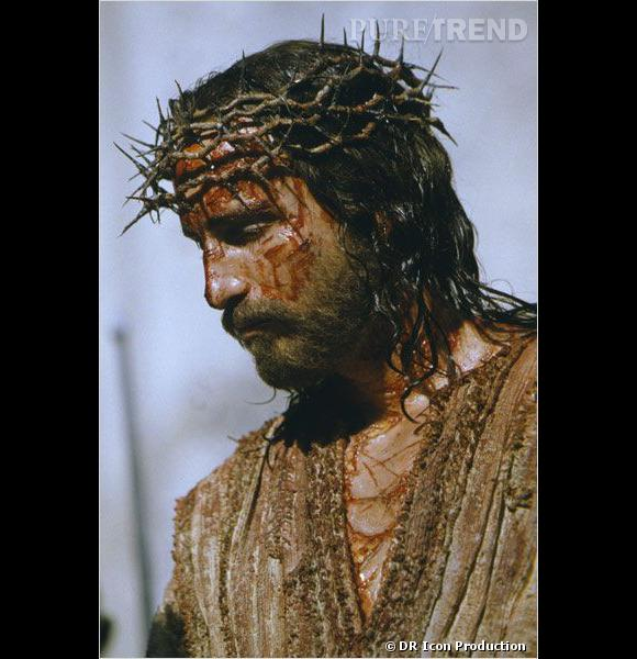 """Jim Caviezel dans """"La Passion du Christ"""" de Mel Gibson."""