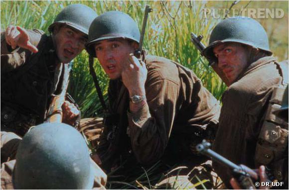 """Jim Caviezel dans """"La ligne rouge"""" de Terrence Malick."""