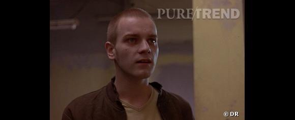 """1996, Ewan McGregor a 25 ans et joue un toxico dans """"Trainspotting"""", le crâne rasé. On est encore loin du sex-symbol."""
