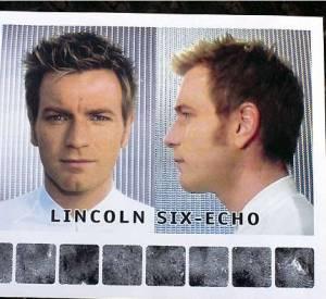 """Dans """"The Island"""" (2004), Ewan McGregor tente d'échapper à un monde aseptisé coiffé d'une coupe courte et un peu décoiffée."""