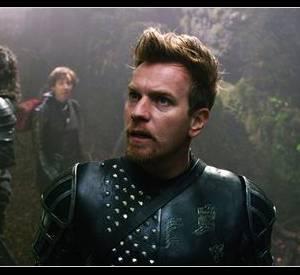 """Dans son dernier film, """"Jack le chasseur de géants, aujourd'hui en salles, Ewan McGregor est un chevalier à bouc et à brushing."""