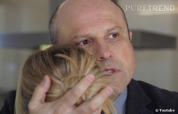 Enrico Colantoni (qui joue le père de Veronica Mars) semble être le plus touché : il continue de se comporter comme le père de la jolie blonde !