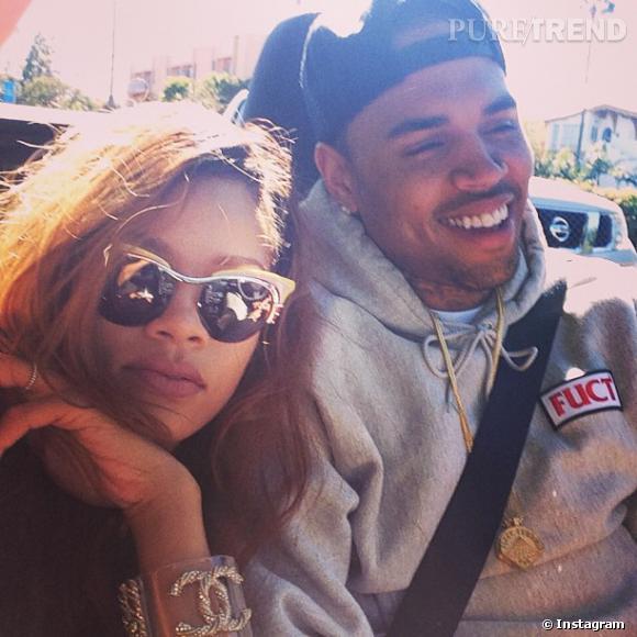 Rihanna et Chris Brown ? Un couple qui a l'air de fonctionner...