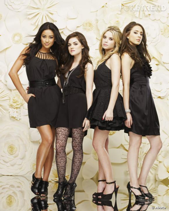 Shay Mitchell, Lucy Hale, Ashley Benson et Troian Bellisario : les quatre filles de Pretty Little Liars ont un sacré look !