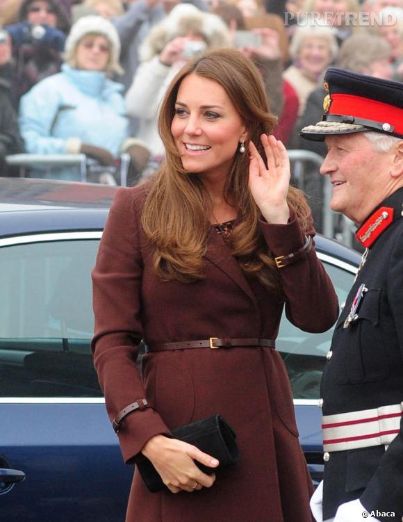 Kate Middleton, femme à la garde robe la plus prisée.