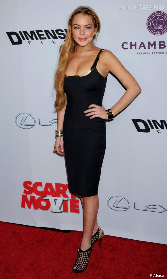 Lindsay Lohan reprend petit à petit sa place dans l'industrie du cinéma...