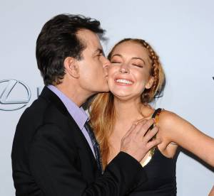 Lindsay Lohan et Charlie Sheen : l'amour fou pour la premiere de Scary Movie 5