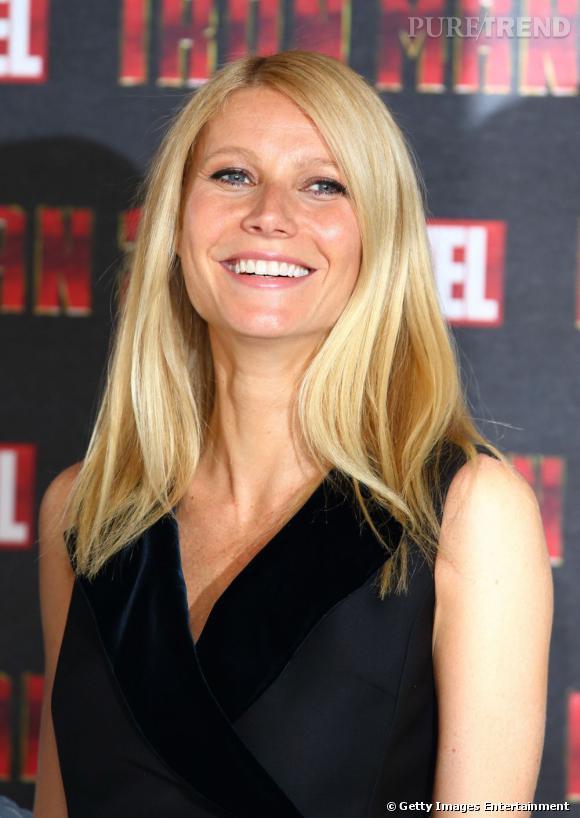 Gwyneth Paltrow rayonnante sur le tapis rouge.