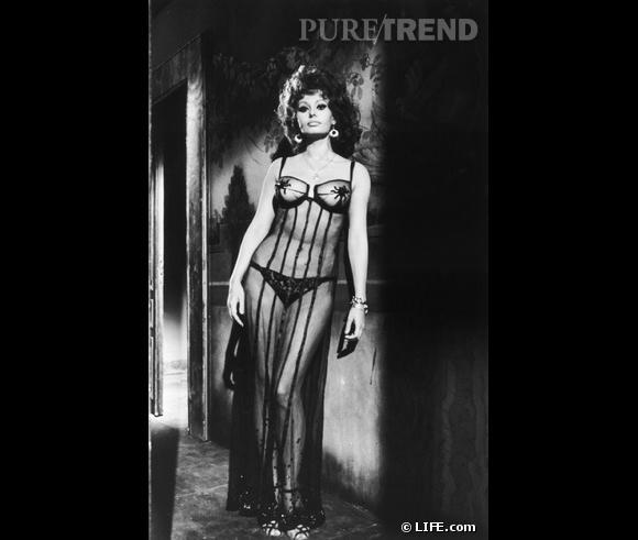 Sophia Loren, autre star aux courbes de rêve.