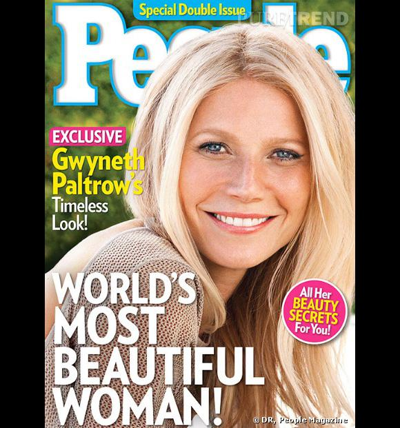 Gwyneth Paltrow élue plus belle femme au monde ne 2013 par People Magazine.
