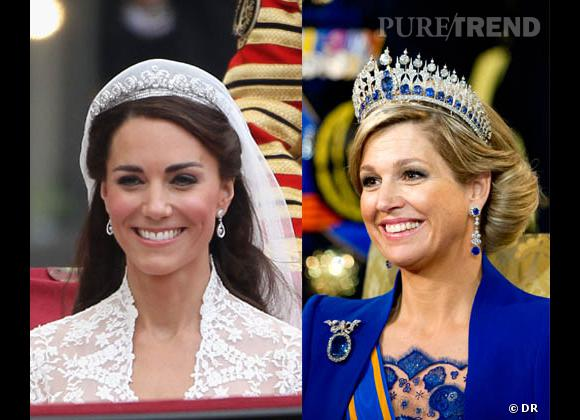 Kate Middleton vs Maxima des Pays : battle royale.