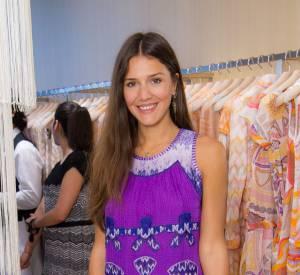 Margherita Missoni ose les couleurs flashy piochées dans sa garde robe Missoni.
