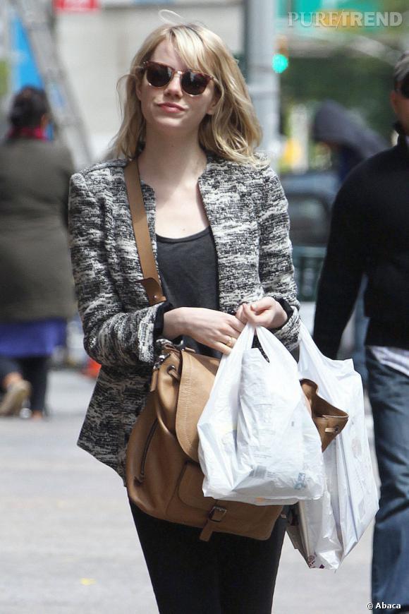 L'actrice est rayonnante et nous prouve qu'elle maîtrise encore parfaitement son style mode.