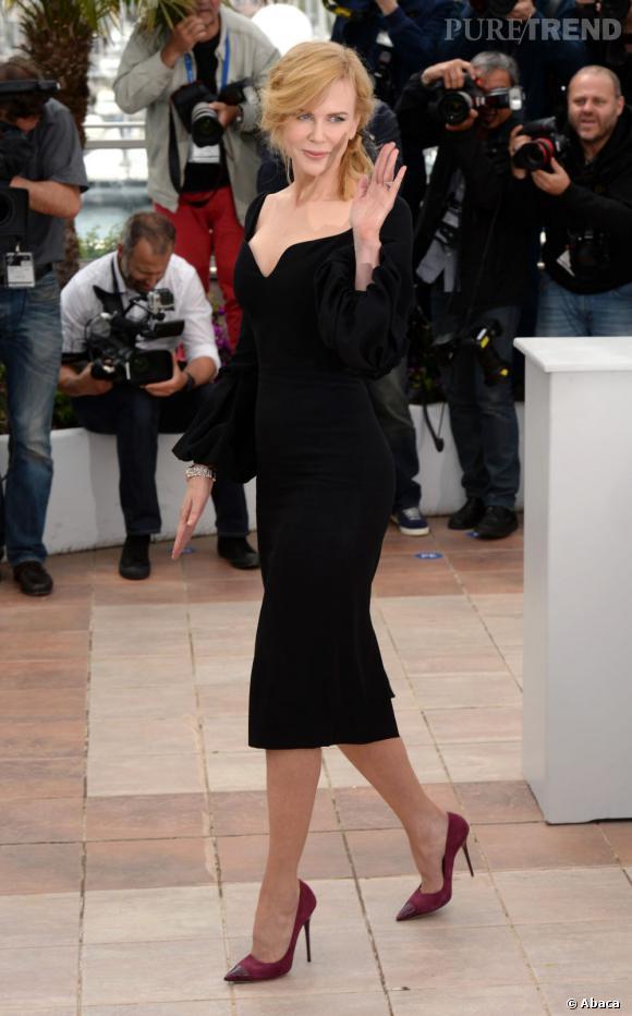 Nicole Kidman en Alexander McQueen lors du photocall du jury au 66ème Festival de Cannes.