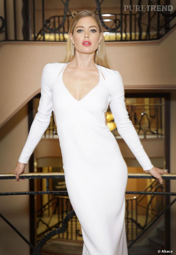 Doutzen Kroes, sirène de Cannes 2013 : le beauty look du jour